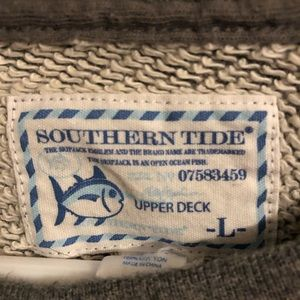 Southern Tide sweater grey